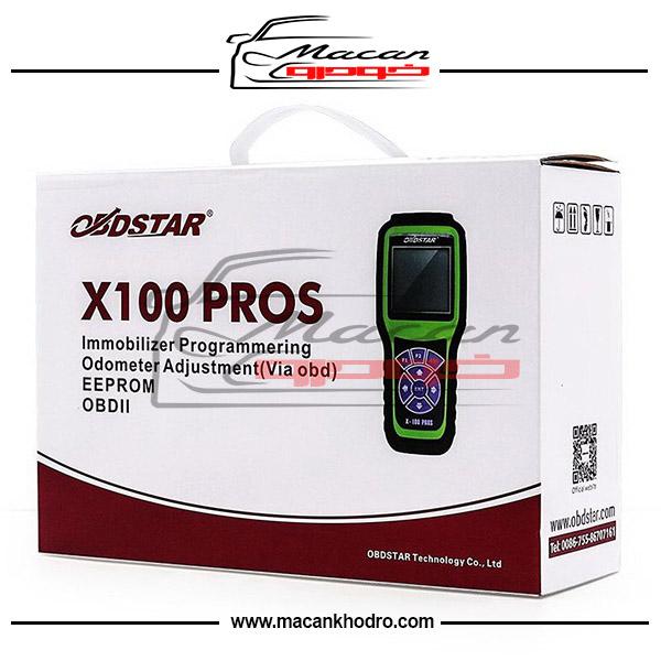دستگاه تعریف سوییچ و اصلاح کیلومترOBDStar X100 PROS