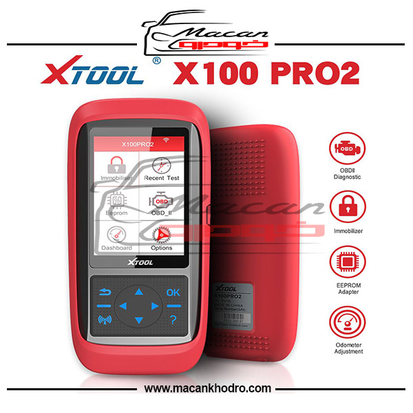دستگاه تعریف سوییچ و اصلاح کیلومتر XTOOL X100 Pro2