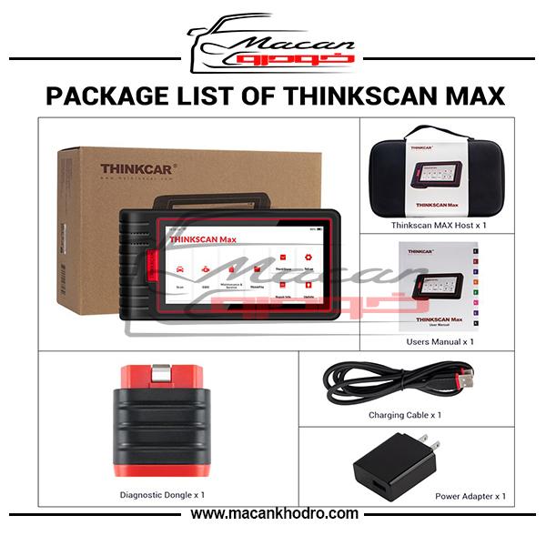 دیاگ مولتی برند THINKCAR مدل ThinkScan Max